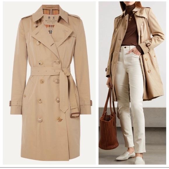 Burberry London chelsea trench coat jacket